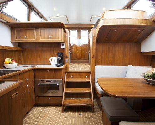 Teak archieven dutchess yachts jachtbouw grou friesland for Interieur yacht